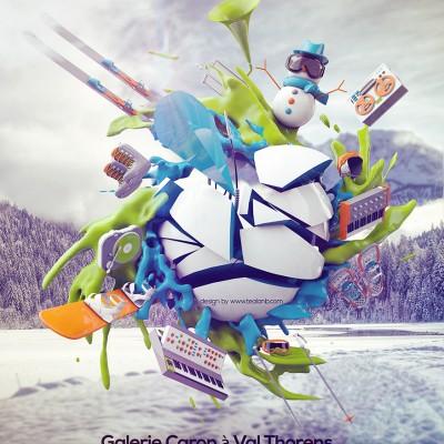 2013, Affiche pour Val Thorens