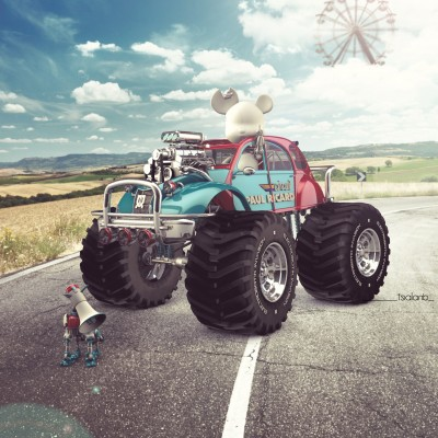 2014, 3d Electrobotik Invasion