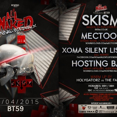 20115, flyer recto verso ALL NAKED SKISM
