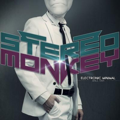 2015, logo typo et 3d photo pour STEREO MONKEY